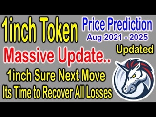 1inch token price prediction today || 1inch price prediction august 2021