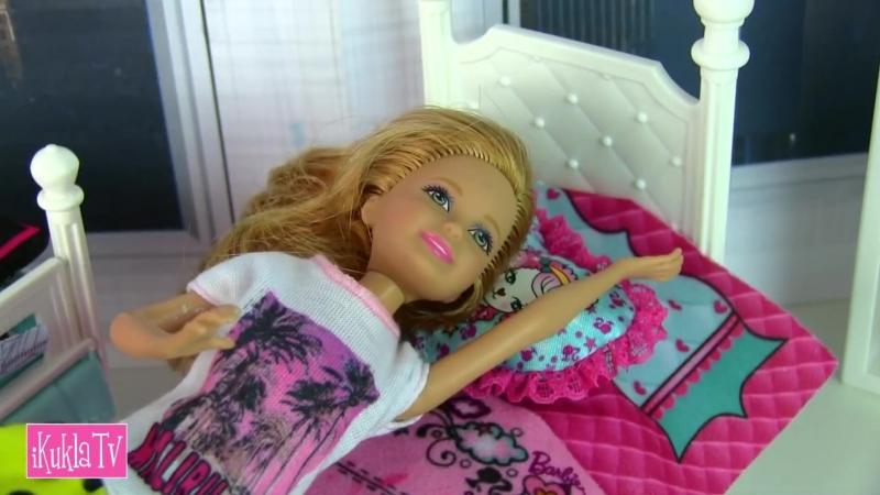 IKuklaTV ❤ Игры в Kуклы со Слоником ❤ ОТКАЗЫВАЕТСЯ КУШАТЬ Американскую Еду Мультик Барби Куклы Игрушки Для девочек Ай Кукла