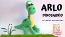 ARLO DINOSAURIO Amigurumi Tutorial (Patrón en Descripción) | Crochet