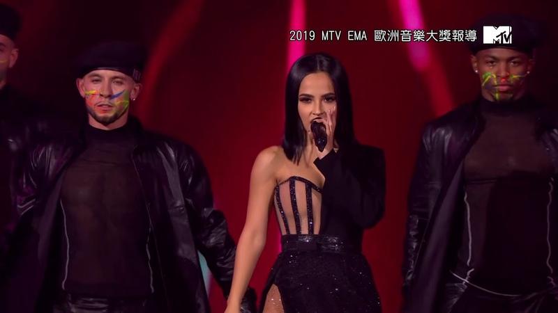 Becky G 貝姬·G Sin Pijama、Mayores、24 7 MTV EMA 2019