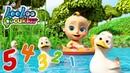 Bebek şakıları Beş küçük ördek çocuk şarkısı Türkçe Hayvanlı şarkılar