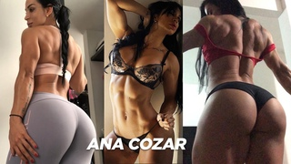 ANA COZAR - Workout 2019. Abs flex, legs, biceps. 🔥 Amazing compilation. Fitness motivation