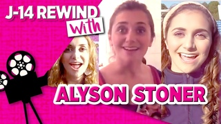 Alyson Stoner Talks Camp Rock, Step Up Kiss and More in Old Interviews | J14 Rewind