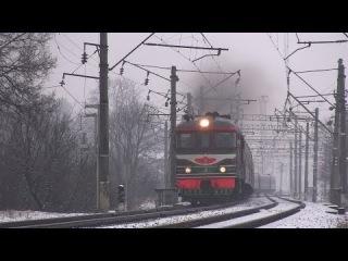 ТЭП60-0429 с поездом СПб - Калининград / TEP60-0429 with a passenger train