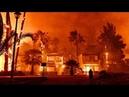 Афины лесной пожар на окраинах! Российские летчики отстояли столицу Греции! Athens forestfire