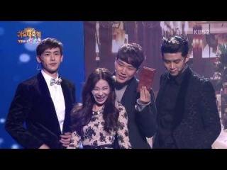 [720p] 131227 Gag Concert with 2PM's Nichkhun & Taecyeon, SHINee's Minho @ 2013 KBS Gayo Daejun