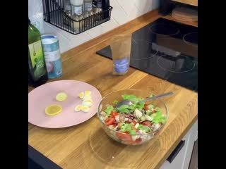 Салат с курицей. Готовим вместе с Наташей