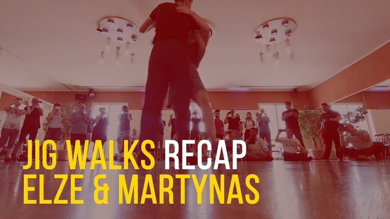 Lindy Hop recaps Jig Walks Elze Visnevskyte Martynas Stonys