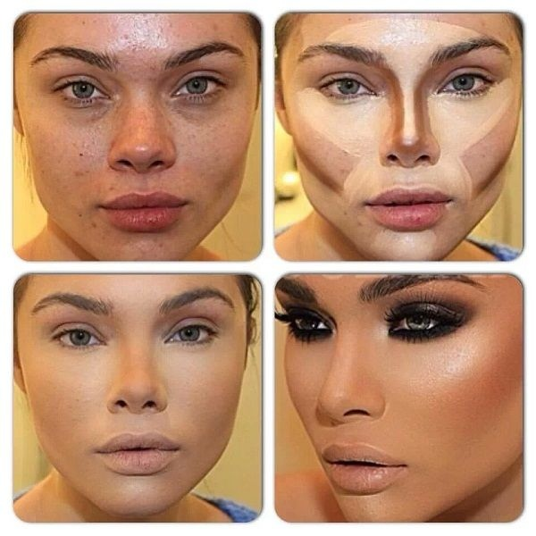 Контурирование лица: пошаговая инструкция..., изображение №12