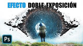 Crea el efecto de Doble Exposición en Photoshop en un solo paso