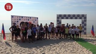 Чемпионат по триатлону на побережье Азовского моря