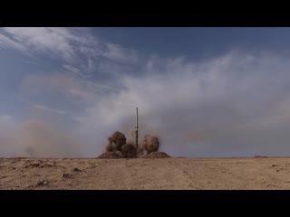 Кадры уничтожения объектов условного противника в рамках основного эпизода стратегических учений Кавказ-2020