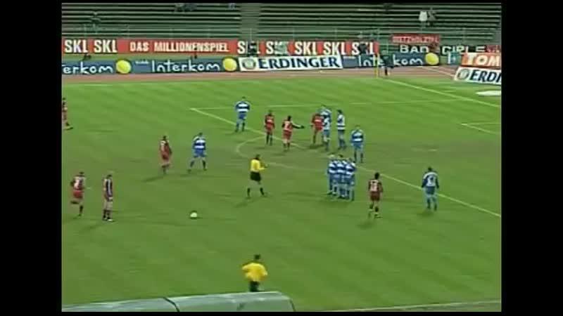 20 лет назад Биксант Лизаразю забил один из лучших голов сезона в Бундеслиге в матче с Дуйсбургом