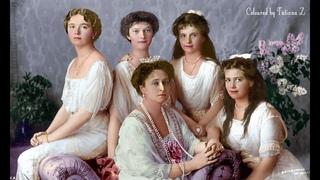 Ожившие через 100 е семья Николая II портрет – при помощи нейросети