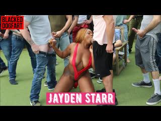 Jayden Starr 💖 Interracial 💕 CumBang 💘 DogFart ♠ FullHD 1080