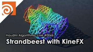 Houdini Algorithmic Live #066 - Strandbeest with KineFX