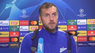 Артем Дзюба: «В Лиге чемпионов нужно играть агрессивно и с большим сердцем»