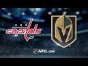 Washington Capitals vs Vegas Golden Knights Feb 17 2020 Game Highlights NHL 2019 20 Обзор