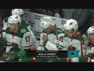 NHL 2018-2019 / RS /  / Minnesota Wild vs San Jose Sharks