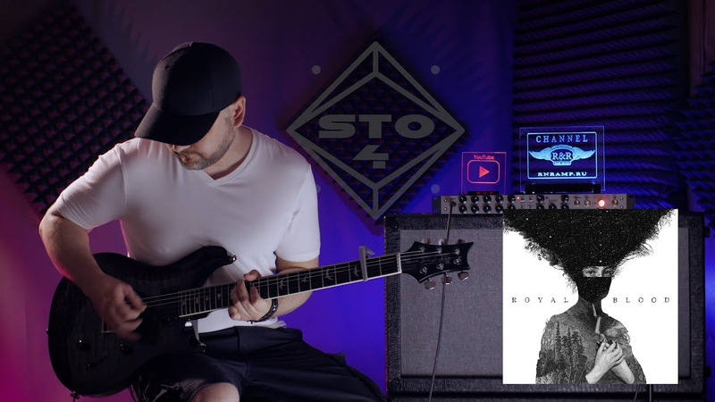 Out of the Black (cover) - Royal Blood. PRS Custom 24.