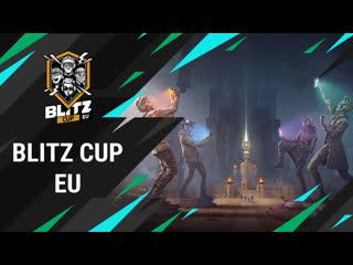 Blitz EU Cup 2020. Смотри игры лучших команд Европы!