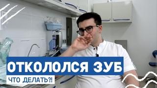 Откололся зуб: что делать? Отвечает стоматолог