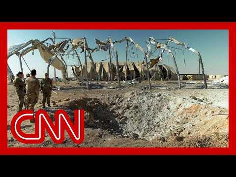 CNN exclusive What's left of Al Asad air base after Iran missile attack