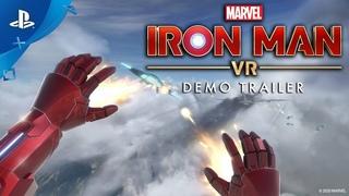 Marvels Iron Man VR  Demo Trailer | PS VR