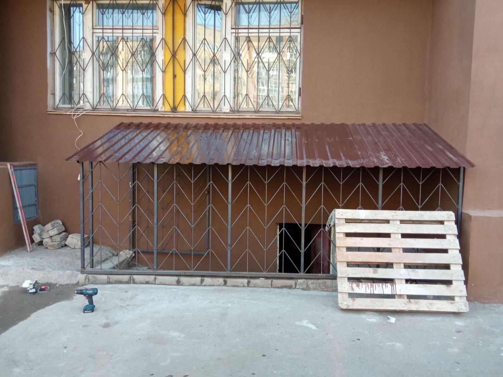 Улица Кольцова дом 22 вход в подвал