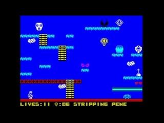 Stripping Penelope (2021) Walkthrough, ZX Spectrum