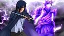 Саске показывает всю свою Силу и спасает Сакуру Наруто и Саске против Шина