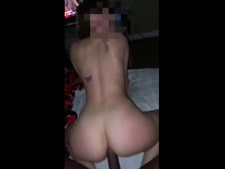 Bubble butt college brunette gets her soul taken by dominant bbc