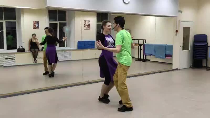 Карлос и Татьяна бачата в Salsa Viva 29 09 20
