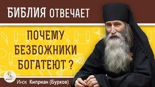 Почему людям, далеким от Бога, щедро подаются материальные блага?  Инок Киприан (Бурков)