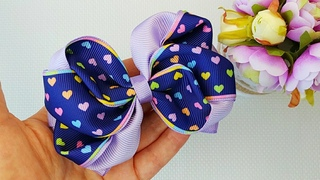 How to make little girl Hair Bows - How to make boutique Hair Bows - Hair Bow tutorial 🎀🎀🎀 - #14