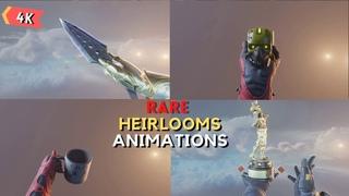 Heirlooms Rare Animations Apex Legends Season 9
