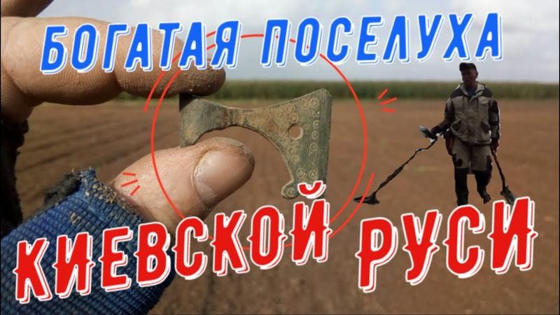 Такие вещи мечтает найти каждый кладоискатель Шикарный КОП по Киевской руси