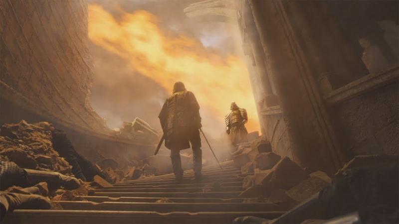 Поединок братьев Клиган Пес vs Гора в 8 сезоне Игры престолов