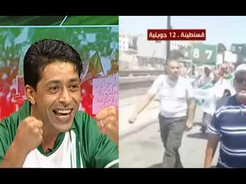 Un Citoyen Algérien Rappel Que Le Foot-Ball Ne Fera Pas Oublier lObjectif Du Peuple