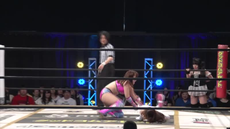 Haruna Neko Mizuki Yuka Sakazaki vs Mina Shirakawa Yuki Kamifuku Yuna Manase