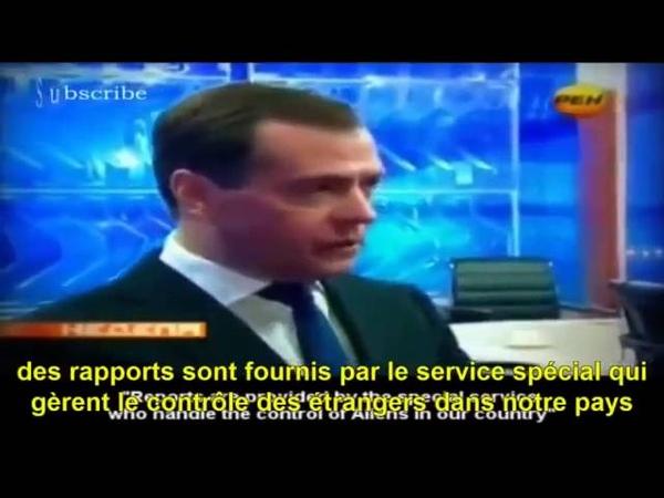 OVNI - Le président russe Medvedev