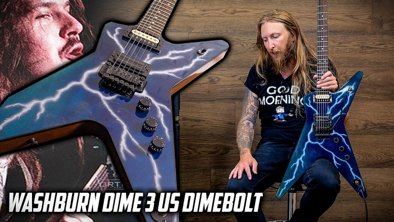 MY GUITAR Washburn Dime 3 Dimebolt US Custom Shop 1995