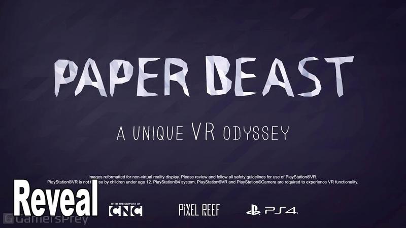 Paper Beast - Reveal Trailer [HD 1080P]