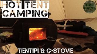 [Хроники Урбана] Кемпинг в Лесу с Друзьями | Палатка и Печь • Hottenting | Tentipi & GStove