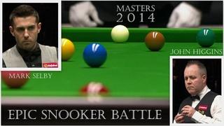 EPIC SNOOKER BATTLE! Mark Selby vs John Higgins 2014 Masters