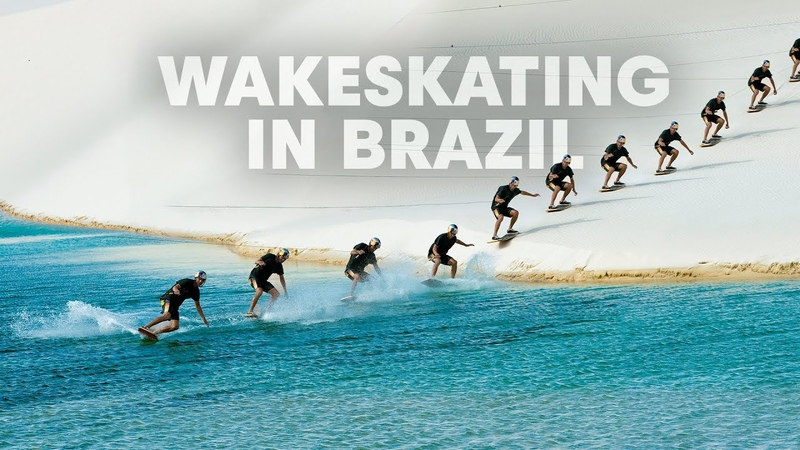 Wakeskating Brazil s Desert Lagoons: Len óis National Park