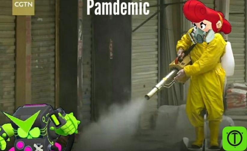 #Юмор Обработка улиц во время пандемии, фото в