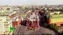 «Бессмертный полк» в Москве с высоты птичьего полета