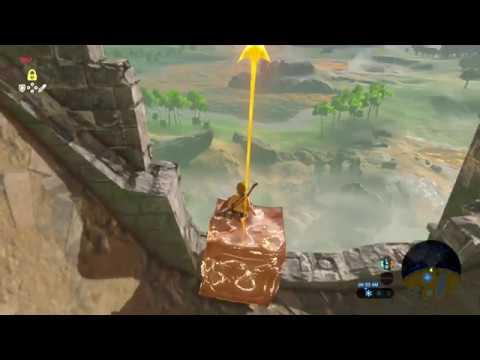 Salir Rápido de la Gran Meseta sin Parapente The Legend of Zelda