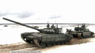 В Минобороны показали впечатляющие кадры совместных учений военных России и Белоруссии.